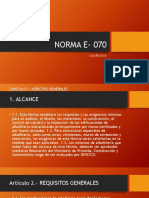 NORMA E- 070