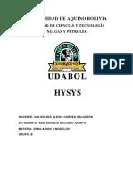 Simulacion y Modelos Udabol Ana Morelia