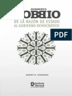 Bobbio, Norberto - De la razón de Estado al gobierno democrático.pdf