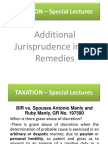 TAXATION – Special Lectures Newest