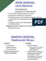 1 Mineria Nacional.