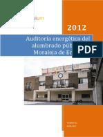 Auditora Alumbrado Publico Moraleja de Enmedio 2012