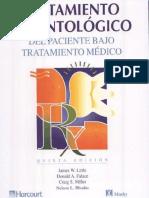 Tratamiento Odontologico Del Paciente Bajo Tratamiento Medico