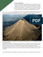 Origenes de Los Volcanes Salvadoreños