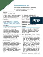 Bund v. Safeguard Props. LLC_ 2018 U.S. Dist. LEXIS 6217