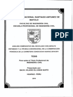 Analisis Comparativo Del Resiclado Con Asfalto Espumado Ya Tecnica Convencional en La Conservacion Periodica de La Carretera Conococha Huaraz 2010-2011 (1)