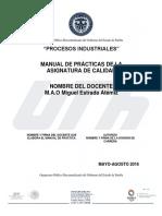Manual de Prácticas 1 Calidad