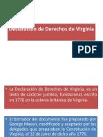 Declaración de Derechos de Virginia Kary