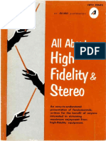 All About High Fidelity Allied 1966
