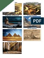 7 Maravillas Antiguo y Moderno