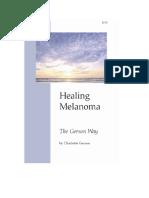 4E Charlotte Gerson - The Gerson Way - Healing Melanoma