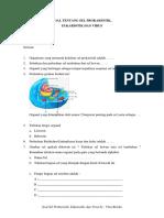 Soal Tentang Sel Prokariotik, Eukariotik Dan Virus. (Ini)