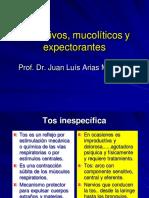 8 Antitusivos Mucoliticos y Expectorantes