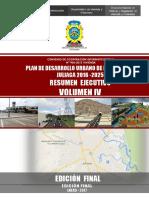 4 Volumen 4 - Resumen Ejecutivo PDU Juliaca