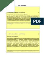Fichas Resumen Gobierno Elctronico