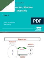 Clase 02 Muestra JTO Turno Mañana 10-06-18