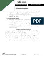 Producto Académico N° 1 Curso Marketing de Servicios.