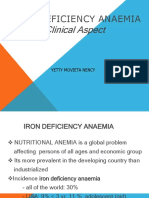 Iron Defiency Anaemi.