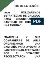 Ficha Conteo de Cubos