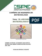 Biotecnologia en Colores