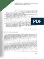 LAMOTTA, V. _ SCHIFFER, M. Procesos Posdeposicionales