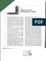 RENFREW, C. _ BAHN, P. Cap. 7 - Qué Comían. Subsistencia y Dieta