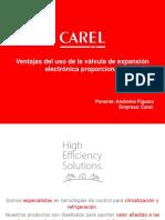 CAREL - Ventajas de la válvula de expansión electrónica proporcional
