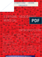 Sistema Geodesico Mundial