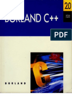Borland C++ Version 2.0 Getting Started 1991