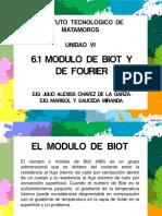 6.1Modulo de Biot y Fourier