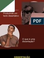 Produção de Texto Dissertativo