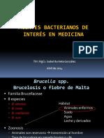 Agentes bacterianos de Interés en Medicina III