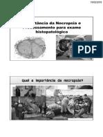 Aula 01 - Importância Da Técnina de Necropsia