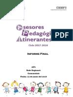 Informe Final API CONAFE