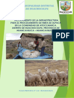 Pip Productivo Fibra de Alpaca Huachocolpa Final