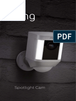 Spotlight Cam Battery MANUAL English