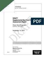 Sandusky Coal Tar Supplemental Assessment DRAFT 9-16-10