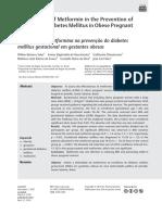 Effectiveness of metformin in obese women with DMG