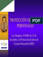 Curso LOPD Diputación