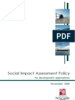 Unlock-Social Impact Assessment Policy