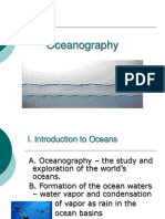 Updated Oceanography