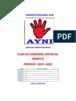 Plan de Gobierno Distirtall AYNI FINAL