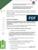 Evidencias Del Proceso de Induccion de Aprendices - Mae