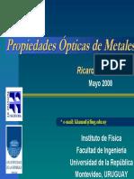 Propiedades Opticas de Metales