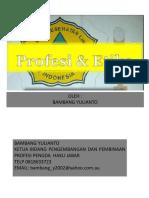 Profesi Dan Etika Sanitarian HAKLI