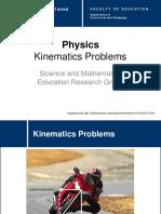 Sec Phys Kinematics Problems