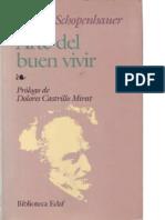 Arthur Schopenhauer - El arte del buen vivir