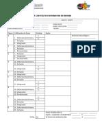 Protocolo Test Guestáltico Visomotor de Bender