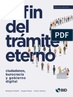 Resumen Ejecutivo El Fin Del Tramite Eterno Ciudadanos Burocracia y Gobierno Digital