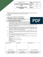 ESG-APR-MIN-11-01 Estandar de Equipo de Protección Personal